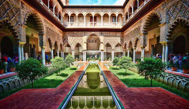 Real Alcazar in Seville, seville attractions